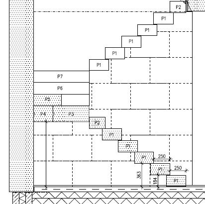 Рисунок 1 Пример закрытой снизу лестницы